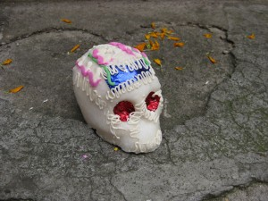 sugar skull for day of the dead