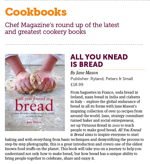 Great review of All You Knead Is Bread 1