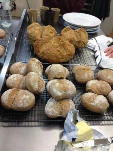 Biovetta and Irish Soda bread side by side