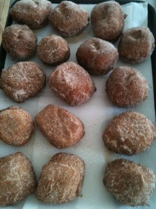Recipe for home made doughnuts for Lent (or any time) 3