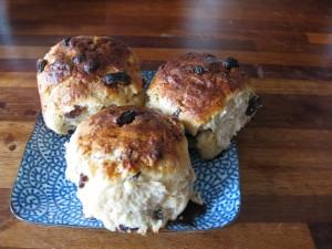 fat free sourdough scones - delicious!