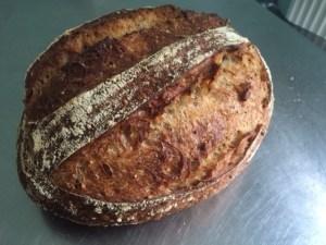 Silver winner, oange and fennel sourdough by Juli Farkas of Our Bread bakery