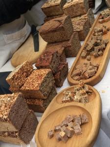 A range of rye bread - no holes