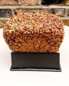 Seeded rye from Liz Wilson.  So lovely!