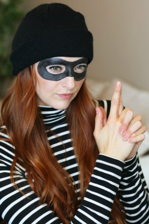 Cat Burglar Robber Halloween Costume DIY
