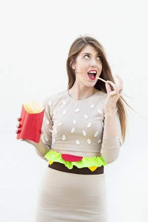 DIY Burger Costume from Studio DIY