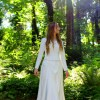 Isabella Ivory Modest Medieval Fairy Princess Inspired Wedding Dress