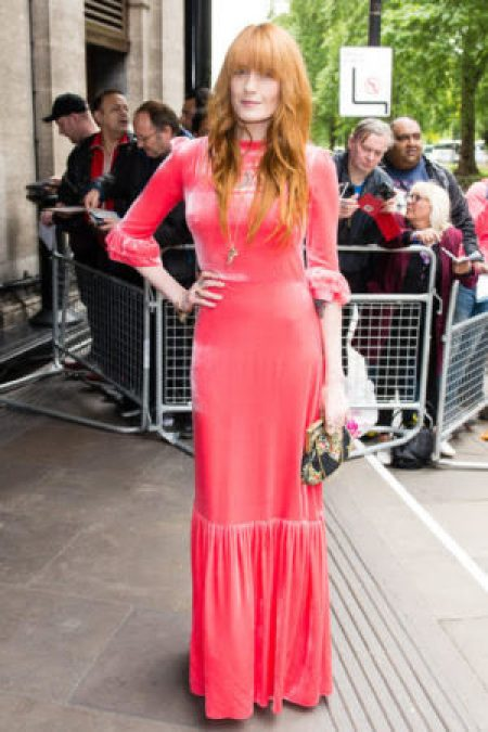 Florence Welch Ivor Novello Awards Grosvenor House 2017