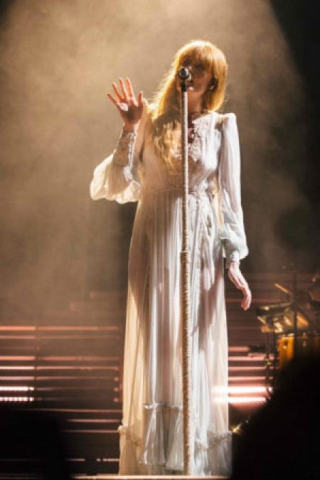 Florence Welch's Gucci Dress Worn San Francisco Outside Lands Music Festival