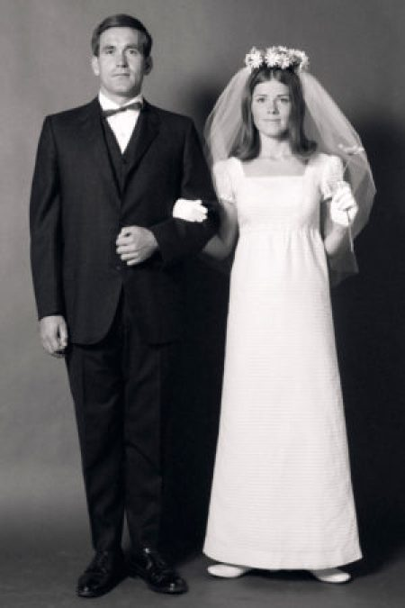 1970's Modest Wedding Dress