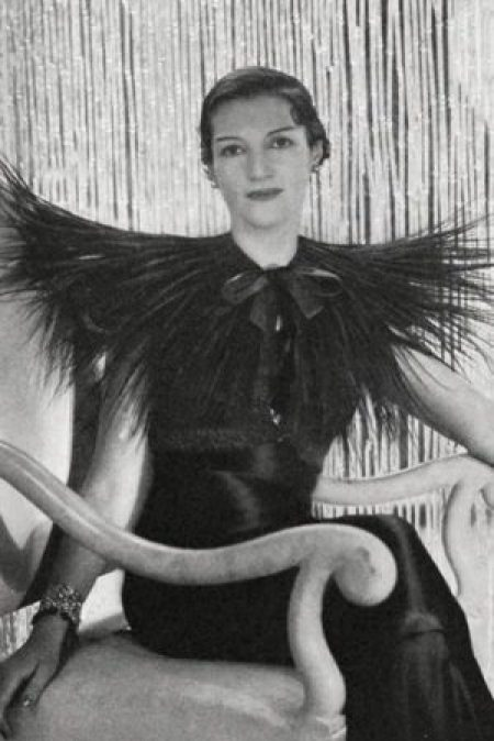 Daisy Fellowes Wearing Schiaparelli 1933