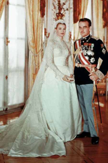 Grace Kelly Iconic Modest Wedding Dress