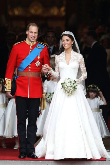 Duchess Kate Middleton Alexander McQueen Wedding Dress