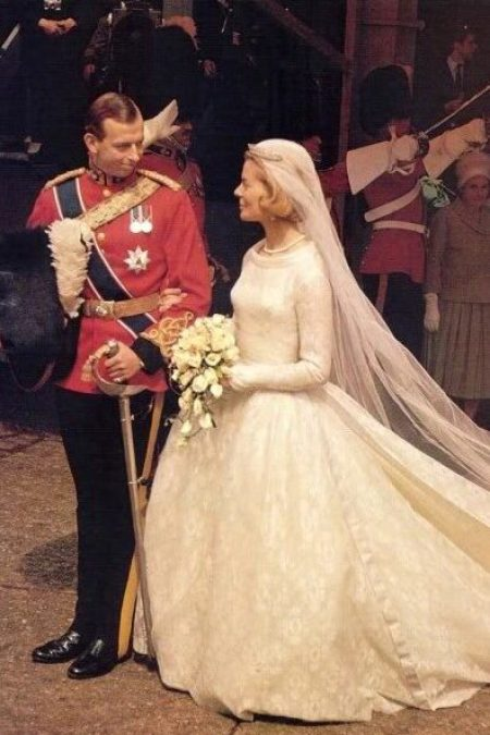 Duchess of Kent Katharine Worsley John Cavanagh Royal Wedding Dress