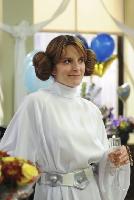 Liz Lemon Princess Leia 30 Rock Wedding Dress