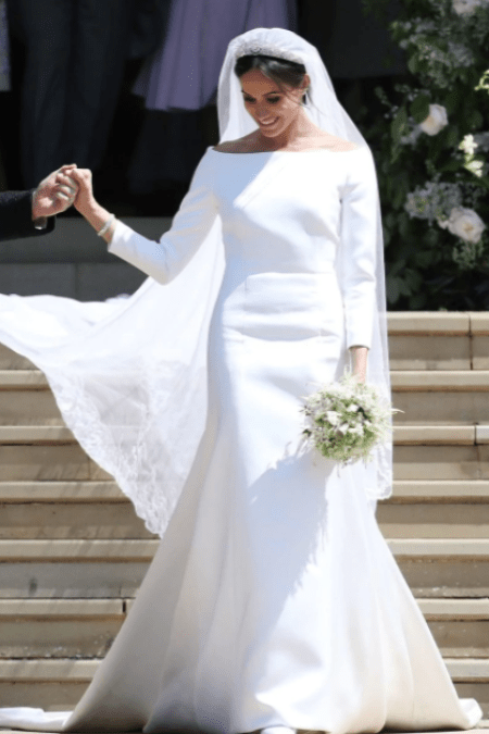 Meghan Markle Givenchy Wedding Gown