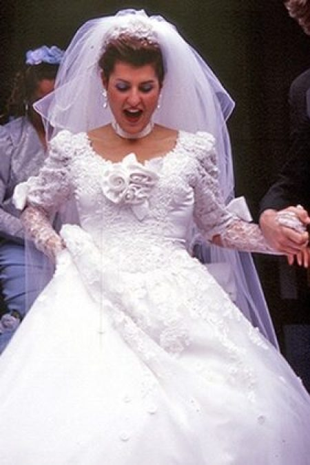 My Big Fat Greek Wedding Modest Wedding Dress