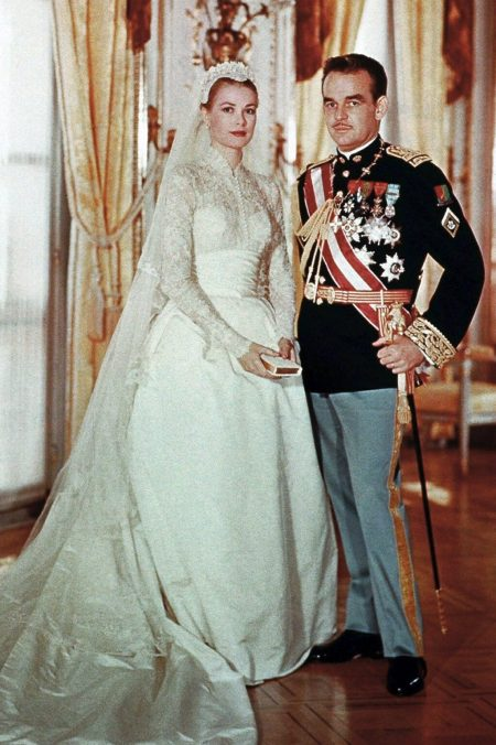 Princess Grace Kelly Monaco Wedding Dress
