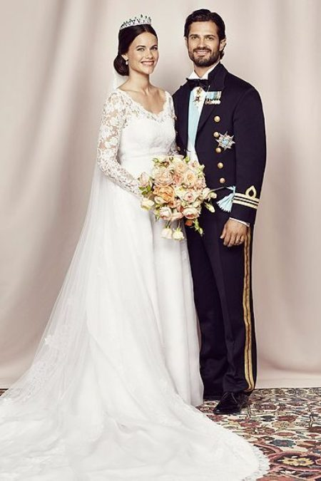 Princess Sofia Hellqvist Wedding Dress