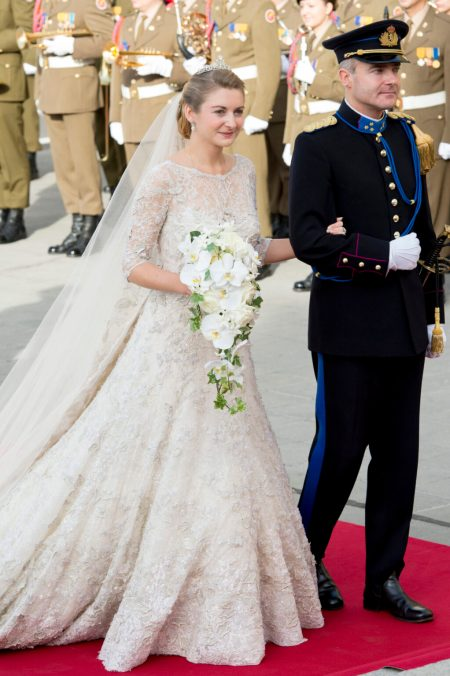 Princess Stéphanie of Luxembourg Elie Saab Wedding Dress