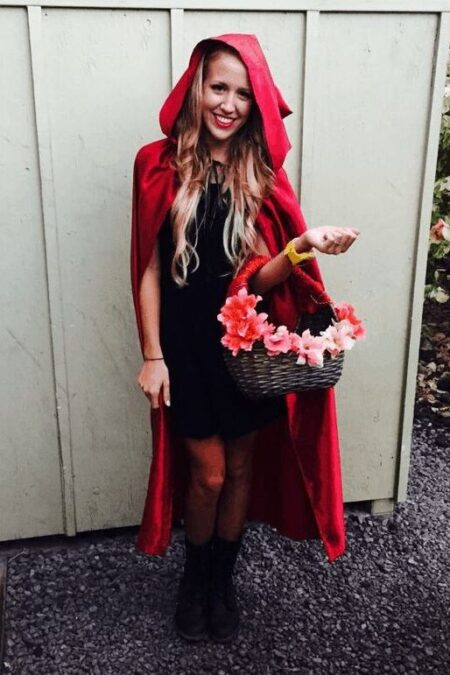 Little Red Riding Hood Modest Women Costume