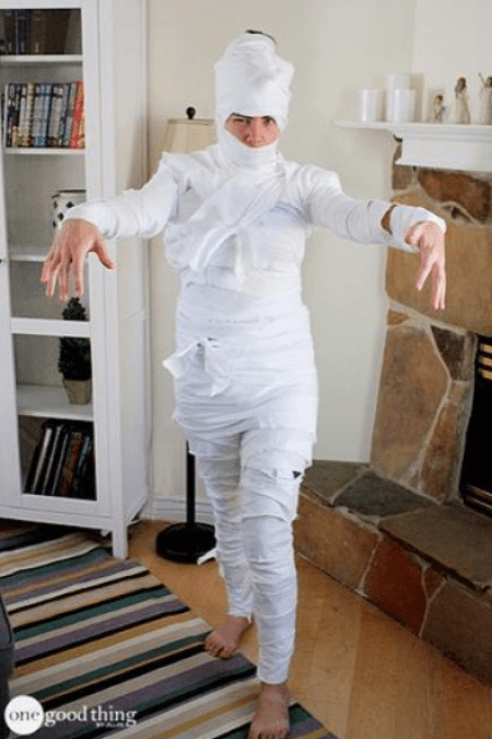 Mummy Halloween Costume