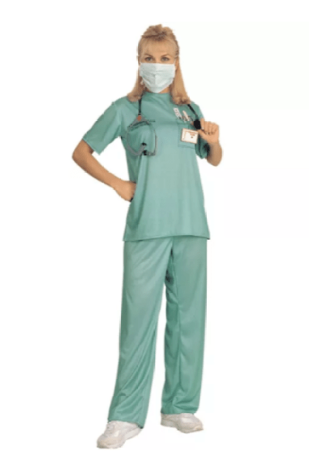 Woman Surgical Costume