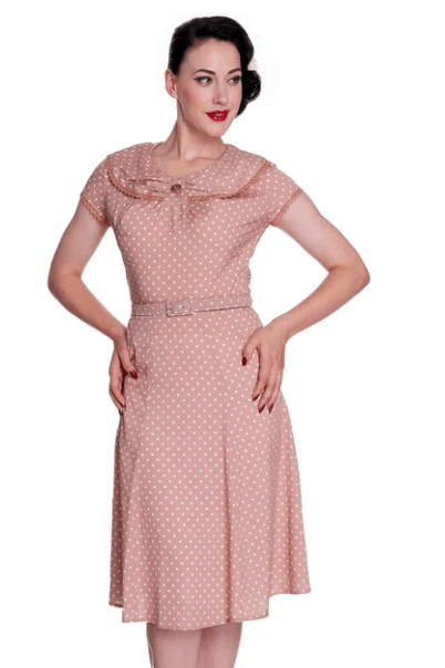 Sister-Missionary-Clothes-Pink-Vintage-Modest-Dress-Sleeves