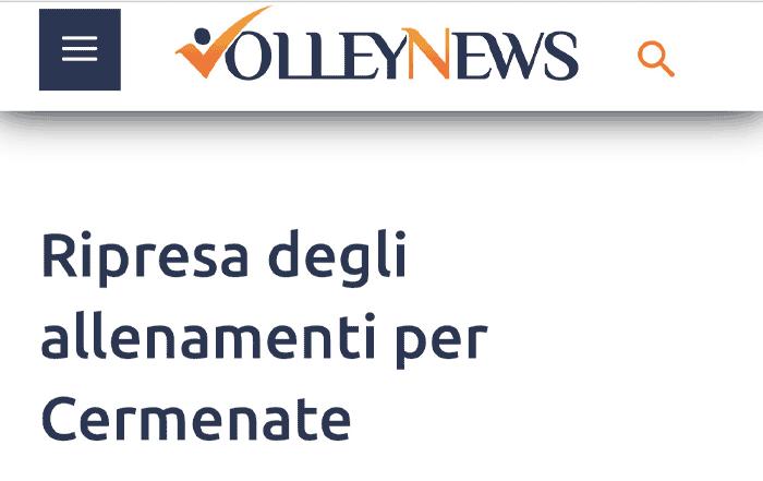 VolleyNews - 6 giugno 2020