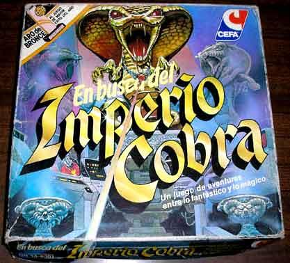 Resultado de imagen de imperio cobra