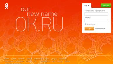 Ok.ru Account Login