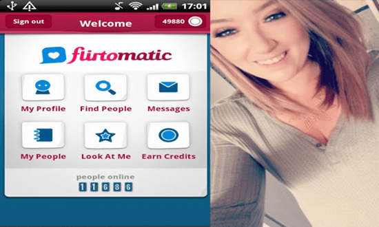 Flirtomatic mobile dating site