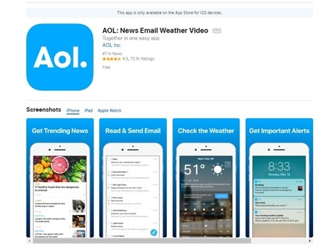 Aol App Download For Android And Iphone How To Download And Install Aol App For Iphone And Android Visaflux