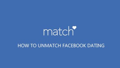 Unmatch friends On Facebook Dating