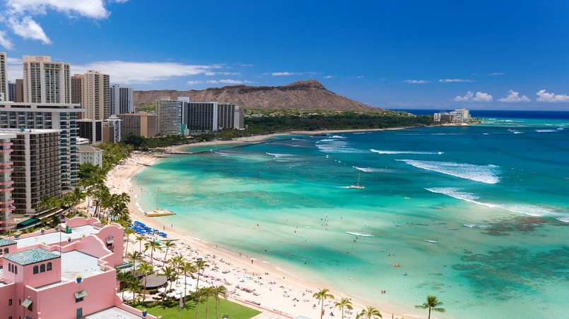 Topping the traveler wish list of U.S. destinations for consumers are Hawaii, followed by California and Alaska