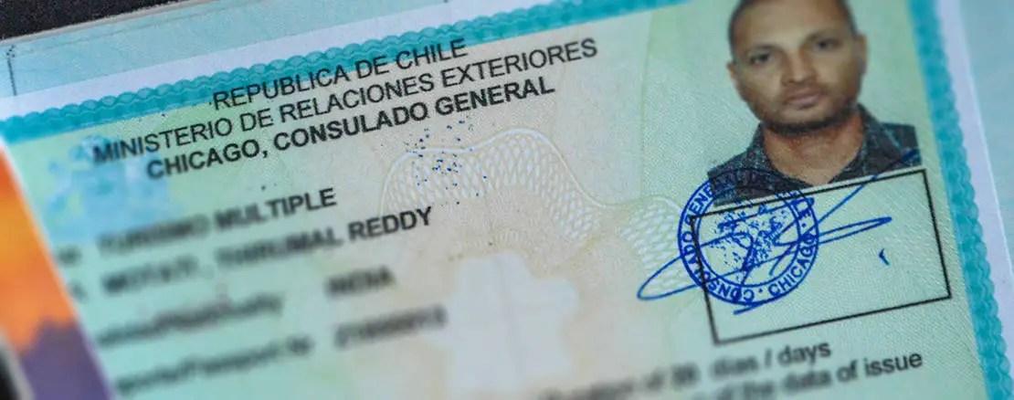chile visa image