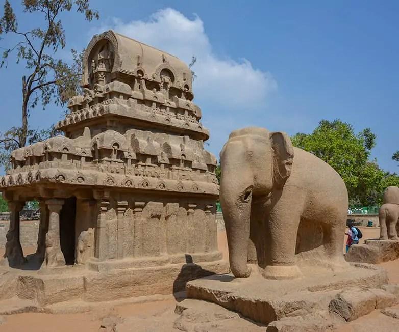 pancha radhas in mamallapuram india