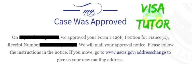 Steps After I 129F Fiance Visa Petition Approval Visa Tutor
