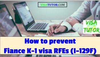 I-129F Request for Evidence (RFE) « Visa Tutor