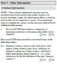 Criminal history is a major cause of denials for I-129F petition in most recent years