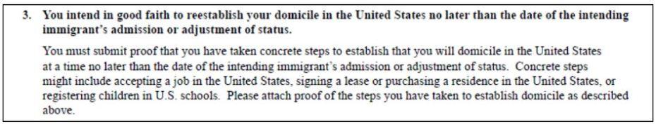 I 134 Domicile Requirements Visa Tutor