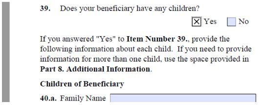 In the I-129F nothing much is required for K-2 visa kids. Just write in the beneficiary's kids names and address