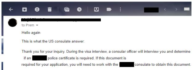 one applicant was missing paperwork for his fiance k-1 visa interview. However, he was still approved