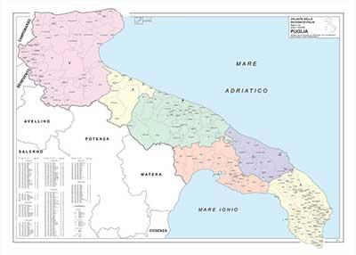 Cartina Geografica Fisica Puglia.Regione Puglia Cartina Fisica Puglia Lessons Blendspace Molti Fiumi Montagne E Laghi Sono Solitamente Etichettati