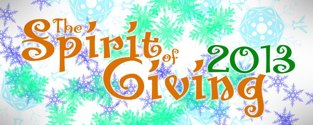 The Spirit of Giving 2013