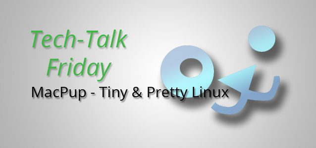 MacPup - Tiny & Pretty Linux