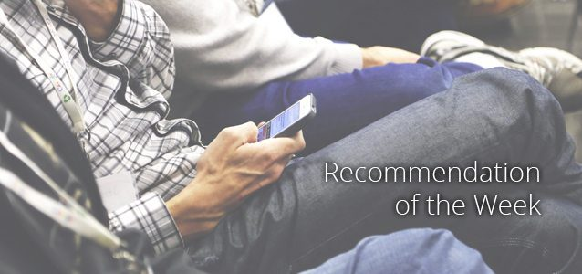 The New Thursday: Recommendation of the Week