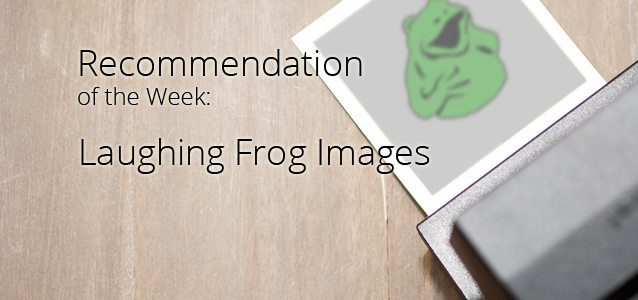 Recommendation of the Week: Laughing Frog Images