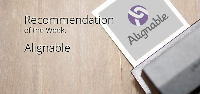 Recommendation of the Week: Alignable