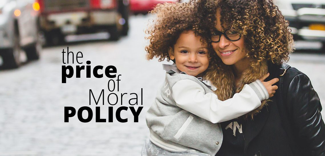 The Price of Moral Policy